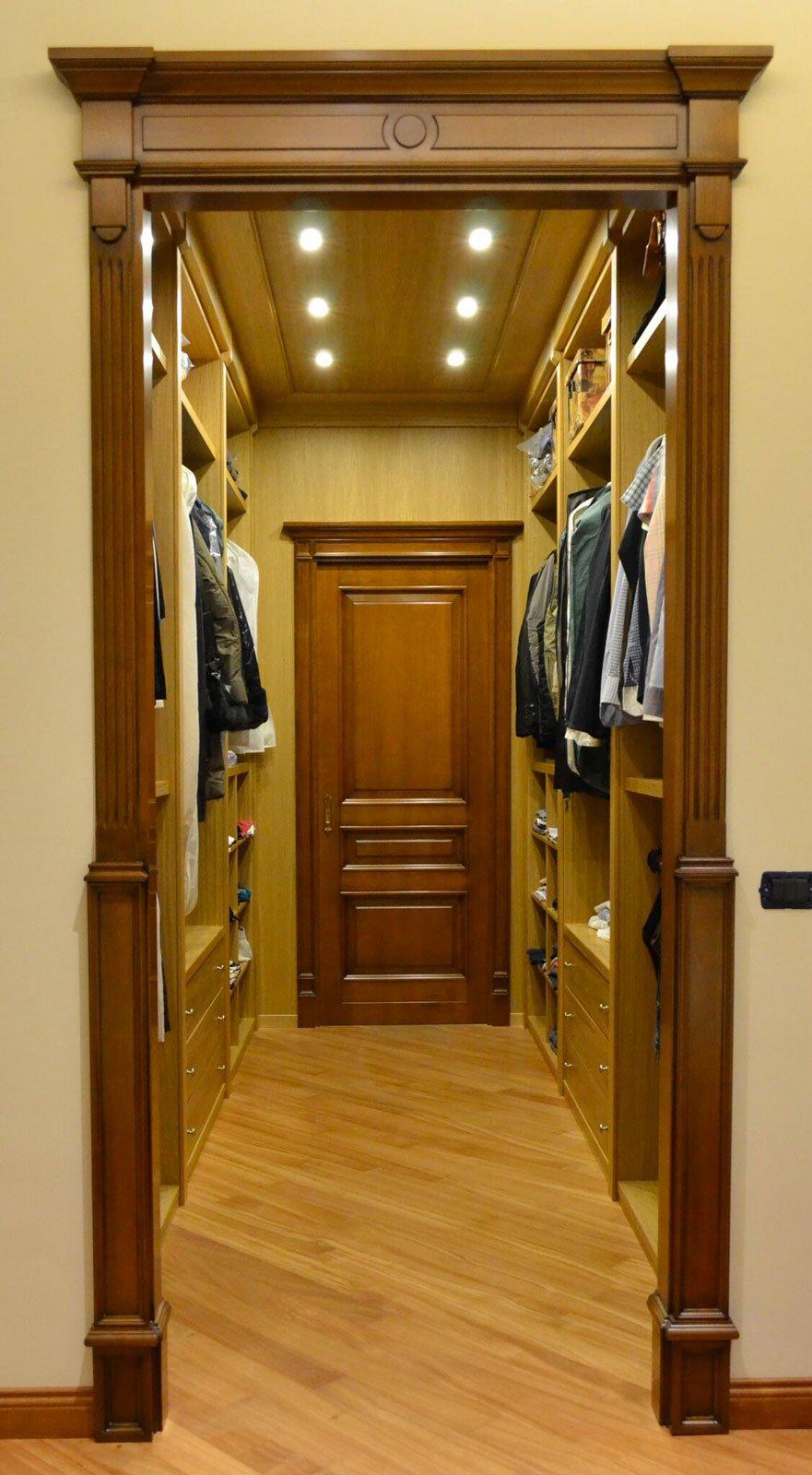 Cabina Armadio Angolare Ciliegio.Cabina Armadio In Legno Rovere E Ciliegio Arecodesign Napoli