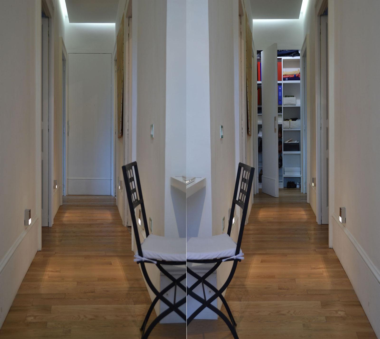 Porta in legno artigianale modello rototraslante napoli - Porta in legno tamburato ...
